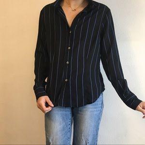 Brandy Melville Tops - Vintage Pin Striped Blouse