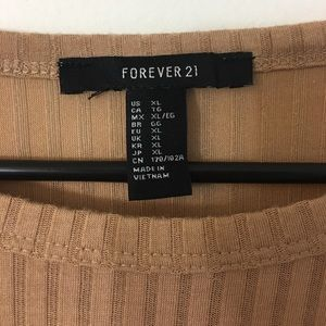 Forever 21 Tops - F21 Taupe Blouse