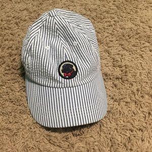 Southern Proper Accessories - Southern Proper seersucker baseball cap hat EUC