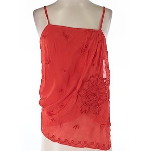 Anthropologie Tops - Anthropologie Sleeveless printed Blouse Size XS