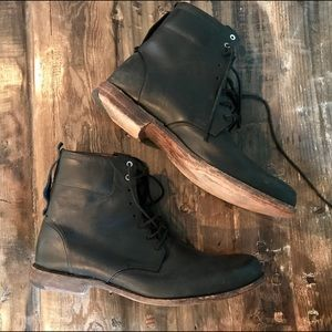Timberland Other - Timberland Black Leather Men's Lace Up Boots