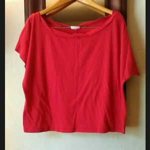 ALLOY Tops - Red Crop Top T-Shirt by Alloy