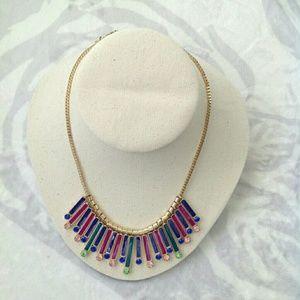 Kate Spade bar statement necklace