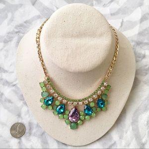 J. Crew Jewelry - Jcrew green statement necklace