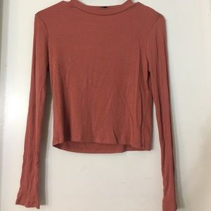 F21 Mock Neck Top