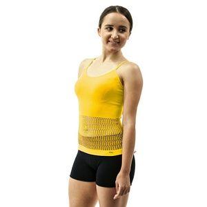 MyHeart  Tops - Women Spaghetti Strap Tank Top, #10426, Yellow