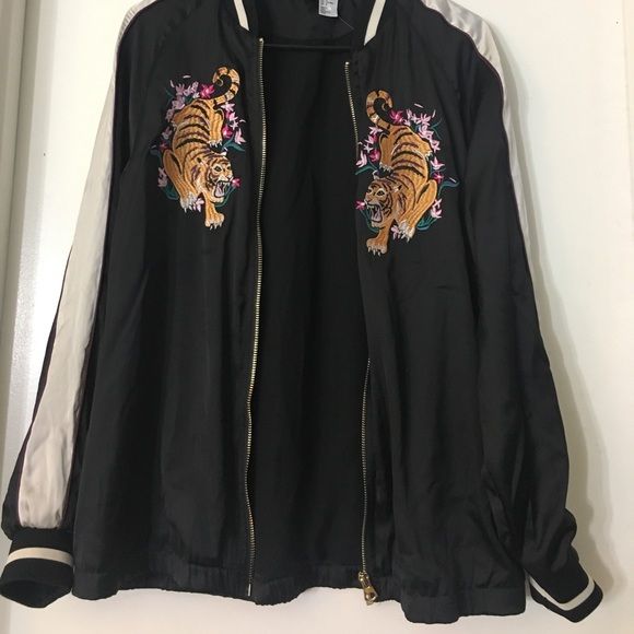 H&M Jackets & Coats - H&M Bomber Jacket