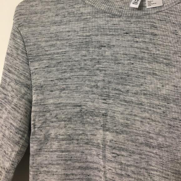 H&M Tops - Light Grey Marl Top