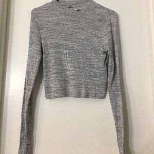 Light Grey Marl Top