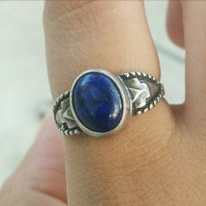 Jewelry - Vintage lapis sterling silver southwestern ring