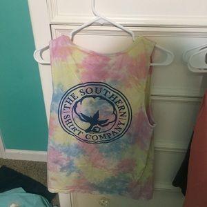 Tops - Southern shirt company tie dye tank