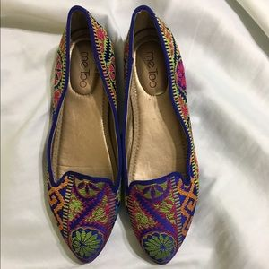 Me Too Shoes - Me Too Flats Ornate Oriental Design Size 9