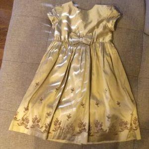 💕 Janie & Jack Golden Girls Silk Dress