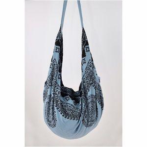 62% off B Chic Boutique Handbags - Mandala Hand Block Print Hobo Tote ...