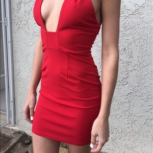 Dresses & Skirts - NWT Red dress Mura boutique NWT
