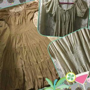Newport News Dresses & Skirts - Peasant Dress Size 14W