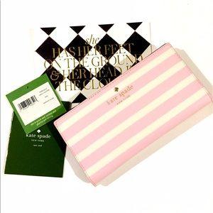 kate spade Handbags - NWT Kate ♠️ Fairmount Square Stacy Striped Wallet