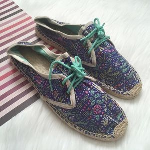 Soludos Shoes - (NEW) Soludos Derby Lace up Espadrille Size 38