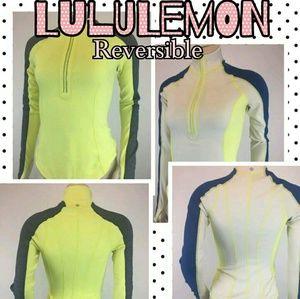 Lululemon Reversible Run U-Turn Half Zip Pullover