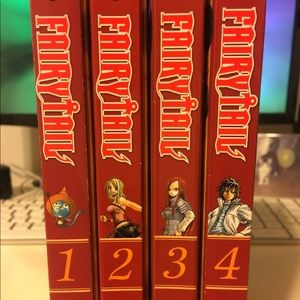 Manga Other - Fairy Tail Manga 1-4 (Can be bought individually)