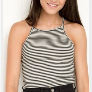 Brandy Melville Tops - Striped halter tank
