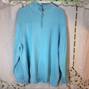 Karen Scott Sweaters - Karen Scott light blue pullover sweater