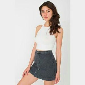 American Apparel Dresses & Skirts - American apparel jean skirt