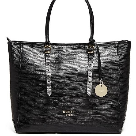 Guess Bags   Marciano Luxe Claudia Leather Carryall Bag   Poshmark b94dd5d262