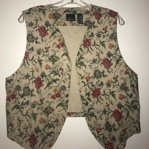 Vintage Thrifted Vest