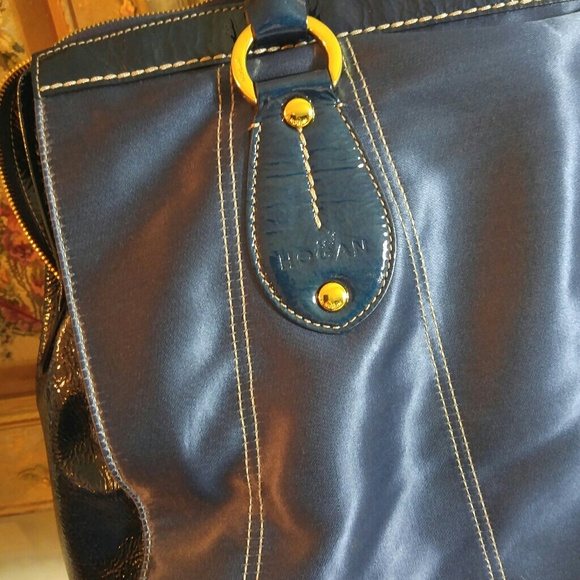 Leather And Nylon Large Tote 59