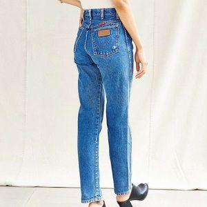 Reformation Denim - Vintage Raw Hem High Waisted Wrangler Jeans
