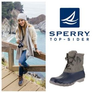 GREAT SHAPE!  Sperry TopSider Saltwater duck boots
