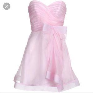 ABS Allen Schwartz Dresses & Skirts - NWT A.B.S. Strapless bow dress pink size 4
