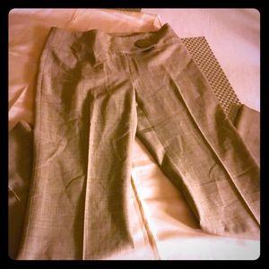 Ideology Pants - SUPER SLEEK BIEGE SLACK PANT