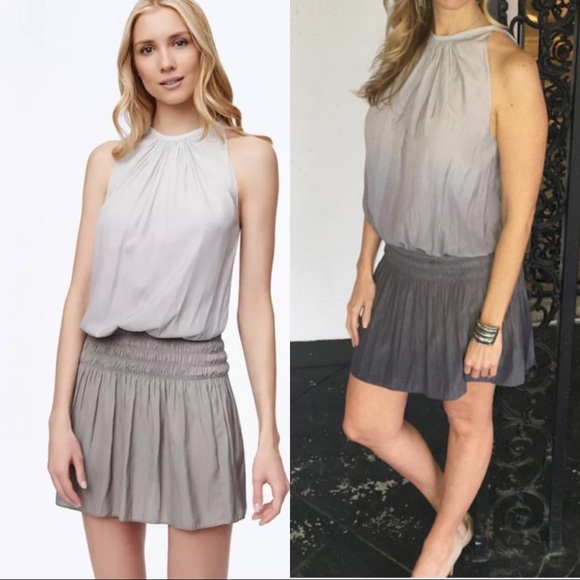 70d9fb75b0703 Ramy brook ombré Paris blouson sleeveless dress. M 591d37ac620ff7243d01de37
