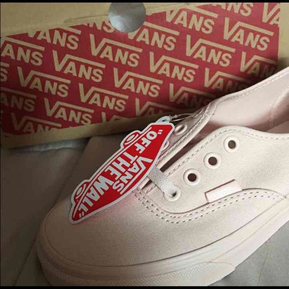 BRAND NEW Vans peach blush mono canvas b957ecd46cb