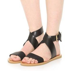 Dolce Vita Julia sandals black 8.5 nib