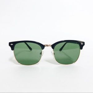 Accessories - Classic Vintage Browline Clubmaster Sunglasses