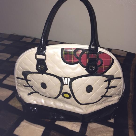 049010b84a24 Loungefly Handbags - Loungefly hello kitty nerd handbag preloved 💕