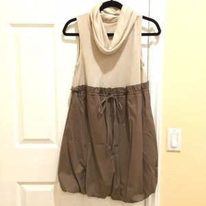 Dresses & Skirts - Earth-Tone Balloon Dress