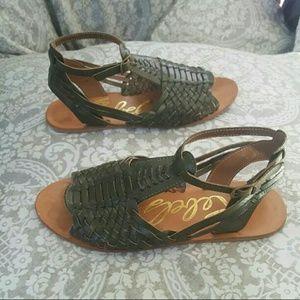 10.Deep Shoes - Rebels Nadia Green Fisherman Huarache sandles 8