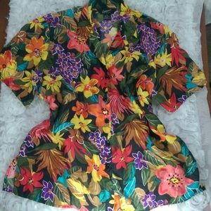 options Tops - Women's Hawaiian Blouse