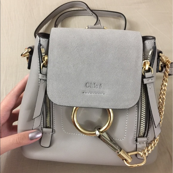 69324adace219 Chloe Bags | Small Faye Backpack | Poshmark