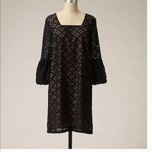 Anna Sui Dresses & Skirts - Anthropology black shift dress by Anna Sui.
