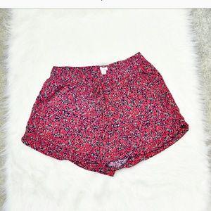 Garage Pants - Garage Floral Print Flowy Shorts