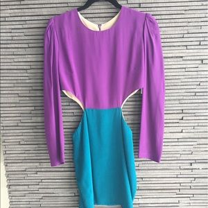 Naven Dresses & Skirts - Naven Two Tone Cutout Dress