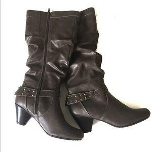 Bass Shoes - NWOT G.H. Bass & Co. Spiked Calf Boots