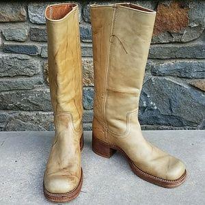 Frye Shoes - Frye black label vintage campus boots