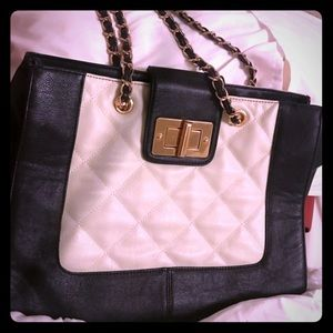 Aldo Handbags - Black and white Aldo purse