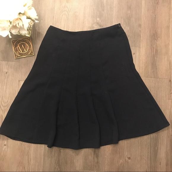 53 dresses skirts sheri martin navy blue circle
